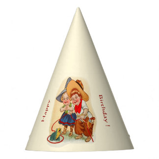 Cowboy Cowgirl Kid Party Party Hat