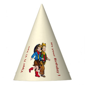Cowboy Cowgirl Kids Party Party Hat