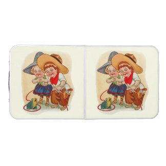 Cowboy Cowgirl Kids Party Table Pong Table