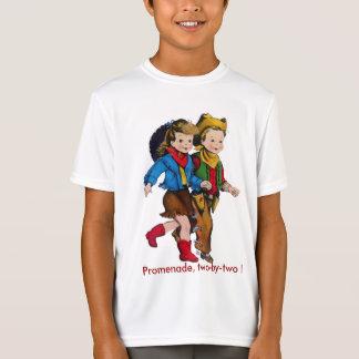 Cowboy Cowgirl Kids Square Dance T-Shirt