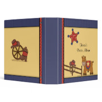 Cowboy & Cowgirl Photo Album 3 Ring Binder