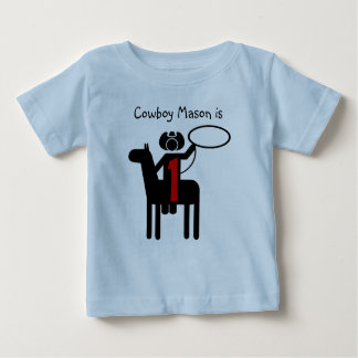 Cowboy Customizable Birthday T-shirt