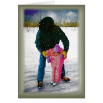 Cowboy Dad: Father's Day: Realism Art Card