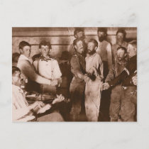 Cowboy Dance Postcard