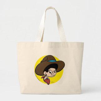 Cowboy Dave Large Tote Bag