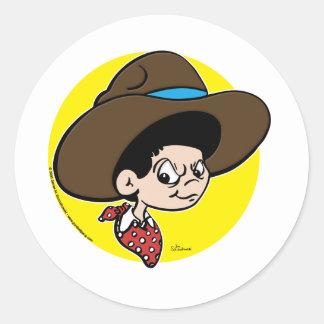 Cowboy Dave Sticker