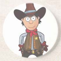 Cowboy Drink Coaster