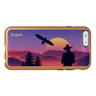 Cowboy Eagle And Rising Sun Wild West Incipio Feather® Shine iPhone 6 Case
