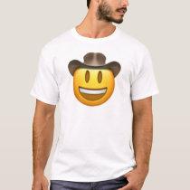 Cowboy emoji face T-Shirt