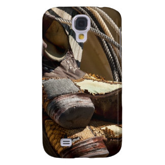 Cowboy Essentials - Boots and Ropes Galaxy S4 Cover