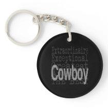 Cowboy Extraordinaire Keychain