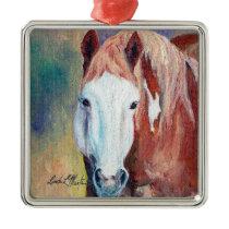 Cowboy Famous Wild Stallion Ornament