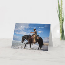 Cowboy Father's Day Card