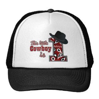 Cowboy First Birthday Trucker Hat