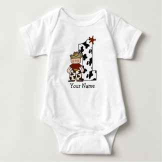 Cowboy First birthday Shirt