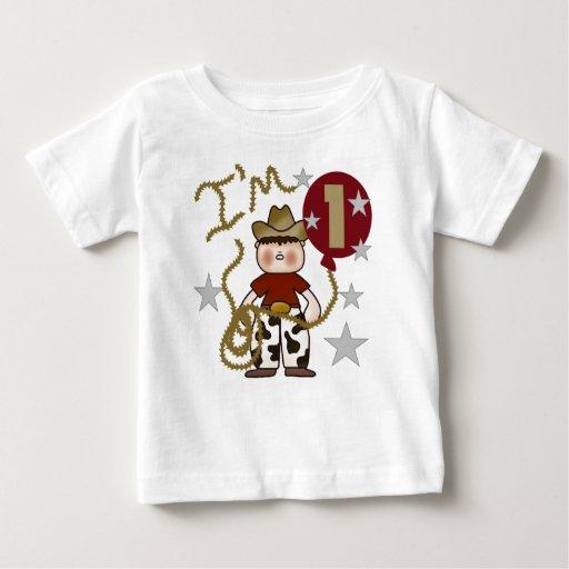 Cowboy First Birthday T-shirt