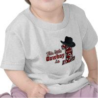 Cowboy First Birthday T Shirts