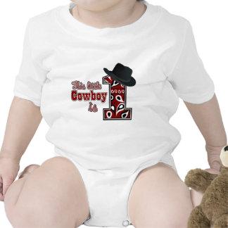 Cowboy First Birthday Tee Shirts