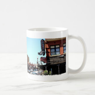 Cowboy Fort Worth, Historic Stockyard District,... Coffee Mug