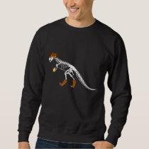 Cowboy Fossil Dinosaur Trex Sheriff Rancher Sweatshirt