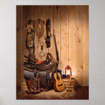 Cowboy Gear Poster