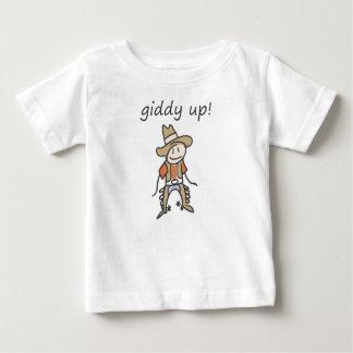 Cowboy Giddy Up Baby T-Shirt