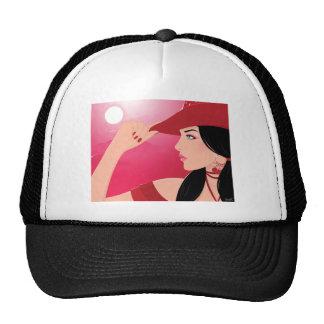 Cowboy Girl Trucker Hat