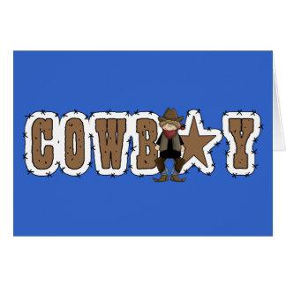 Cowboy Graduation Congratulations - Western Card