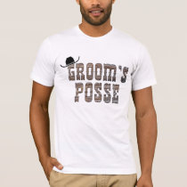 Cowboy Groom's Posse Shirt