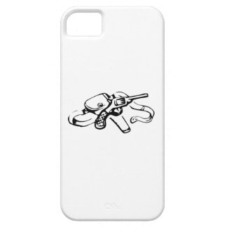 Cowboy Gun and Holster iPhone 5 Covers