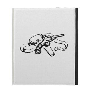 Cowboy Gun and Holster iPad Cases