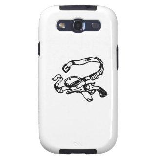 Cowboy Gun and Holster Galaxy S3 Case