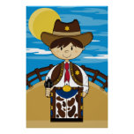 Cowboy Gunslinger Poster