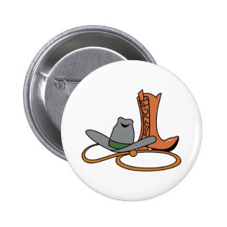 COWBOY HAT AND BOOTS PINS