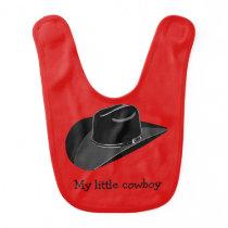 Cowboy hat bib