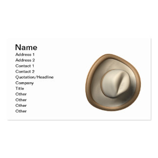 Cowboy Hat Business Card Template
