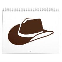 Cowboy hat calendar
