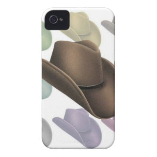 Cowboy Hat Collage iPhone 4 Covers