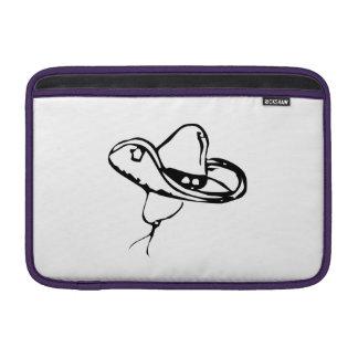 Cowboy Hat MacBook Sleeves