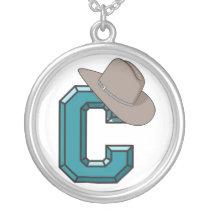 Cowboy Hat Necklace