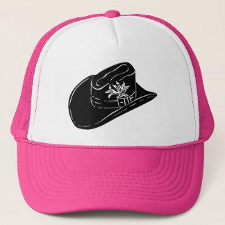 Cowboy Hat on a Pink hat
