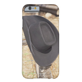 Cowboy hat on fence barely there iPhone 6 case