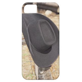 Cowboy hat on fence iPhone SE/5/5s case