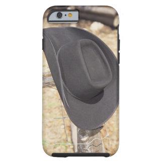 Cowboy hat on fence tough iPhone 6 case