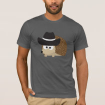 Cowboy Hedgehog T-Shirt