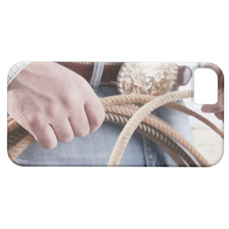 Cowboy holding a rope iPhone SE/5/5s case