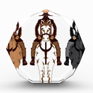 Cowboy - Horse front Award