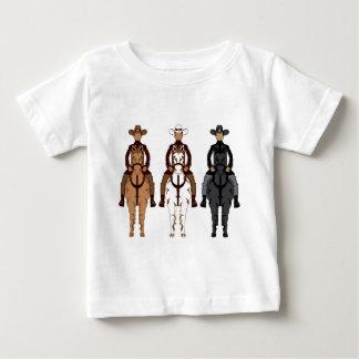 Cowboy - Horse front Baby T-Shirt