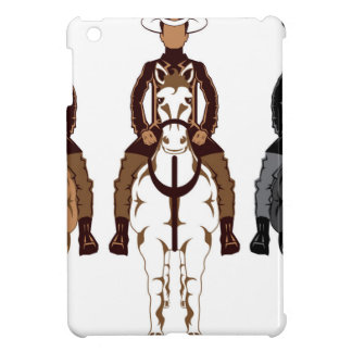 Cowboy - Horse front Cover For The iPad Mini