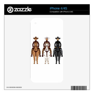 Cowboy - Horse front iPhone 4S Skins